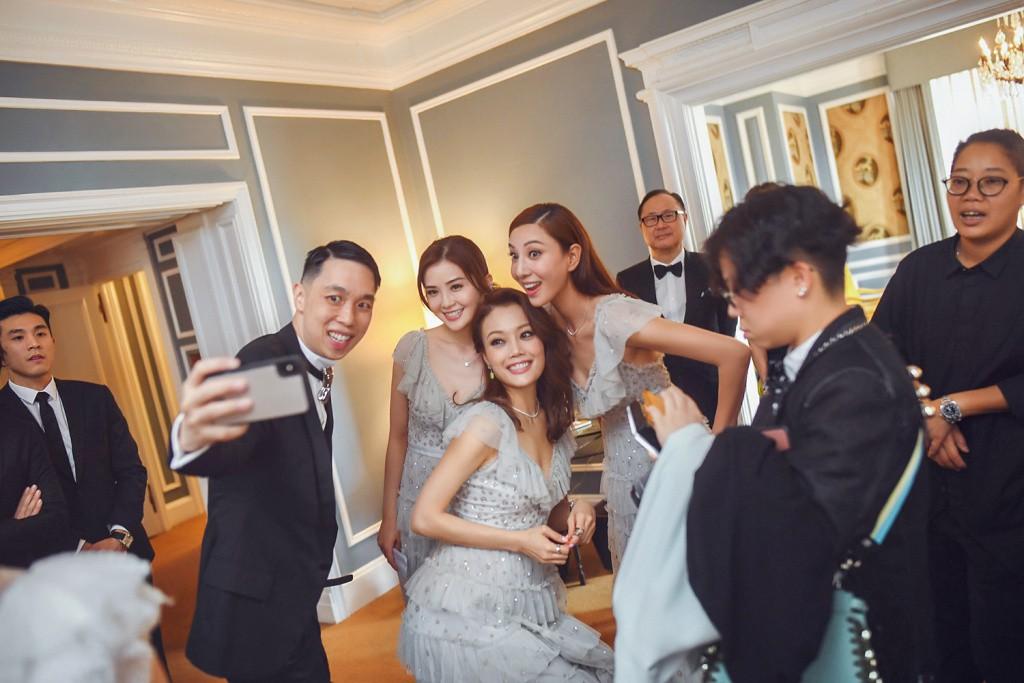 Tròn 10 năm tủi hờn vì scandal ảnh sex, Chung Hân Đồng khóc như mưa trong hôn lễ đẹp như cổ tích của mình - Ảnh 15.