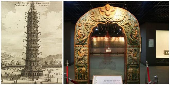 Bí ẩn tòa tháp Sứ ở Nam Kinh: Được mệnh danh là kỳ quan của Trung Quốc - Ảnh 1.