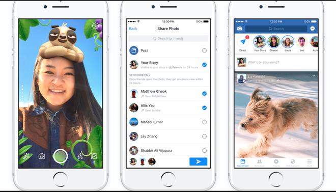 Facebook đang giết chết Snapchat bằng chính thứ vũ khí mà Snapchat đã chế tạo - Ảnh 2.