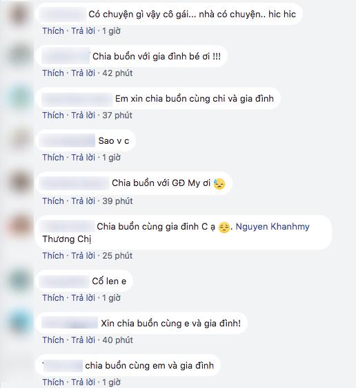 Bạn bè, người hâm mộ gửi lời chia buồn khi hay tin chú của Khánh My qua đời - Ảnh 2.