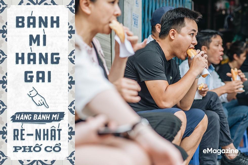 Bánh mì phố cổ Hà Nội: Ngon lành, giòn rụm những ổ bánh đã trở thành một phần văn hoá ẩm thực - Ảnh 8.