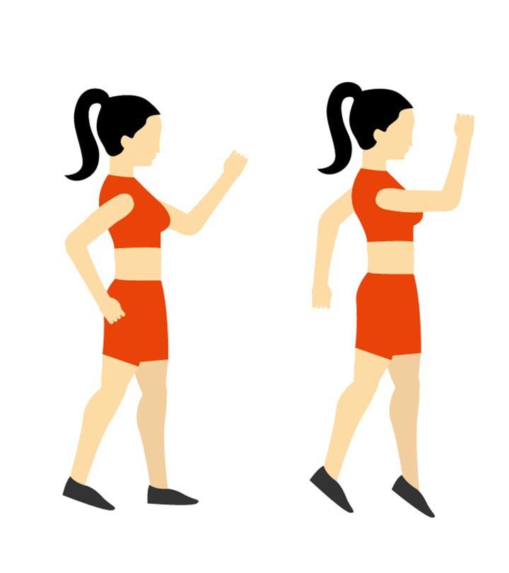 Nhảy cắt kéo - bài tập đơn giản giúp làm săn chắc toàn bộ cơ thể - Ảnh 1.