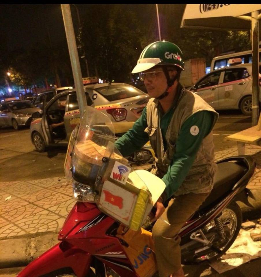 Ai cũng đều thấy xúc động khi đọc tâm sự của cô bạn có bố làm tài xế Grab Bike! - Ảnh 1.