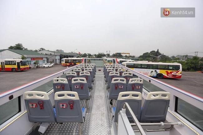 Xe buýt 2 tầng đầu tiên của Hà Nội chuẩn bị được đưa vào sử dụng - Ảnh 10.