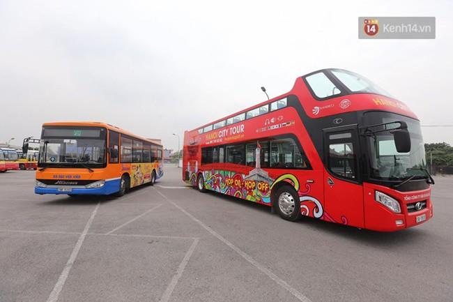 Xe buýt 2 tầng đầu tiên của Hà Nội chuẩn bị được đưa vào sử dụng - Ảnh 3.