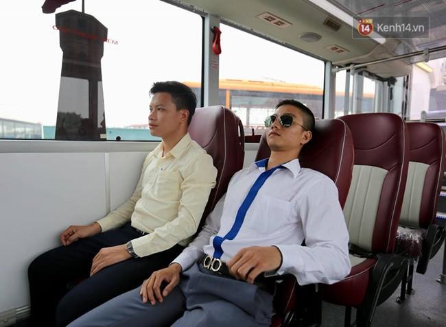 Xe buýt 2 tầng đầu tiên của Hà Nội chuẩn bị được đưa vào sử dụng - Ảnh 6.