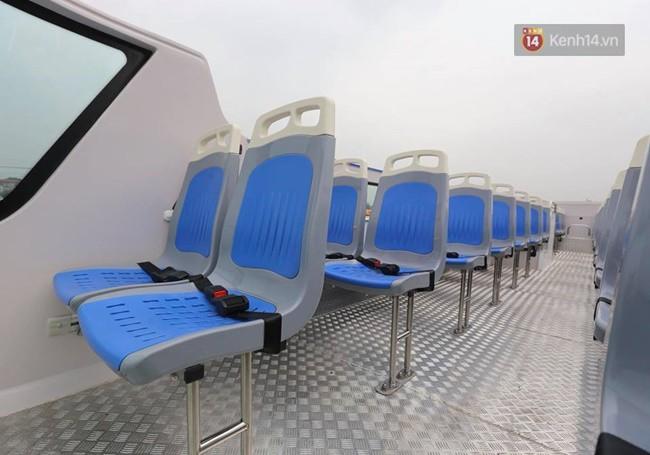 Xe buýt 2 tầng đầu tiên của Hà Nội chuẩn bị được đưa vào sử dụng - Ảnh 9.