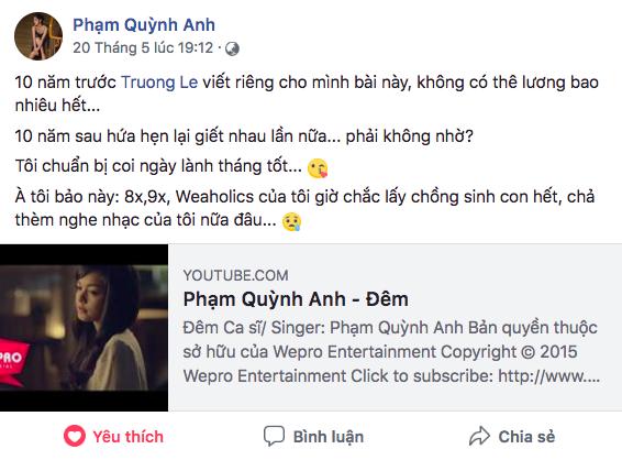 Sau thời gian dài ở ẩn, Phạm Quỳnh Anh liên tục úp mở về sản phẩm trở lại khiến fan nóng lòng chờ đợi - Ảnh 1.