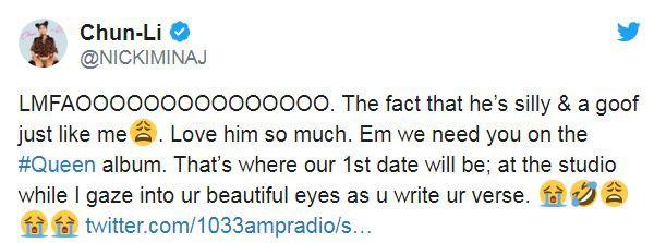 Eminem vừa chính thức lên tiếng về tin đồn hẹn hò với Nicki Minaj xôn xao gần đây
