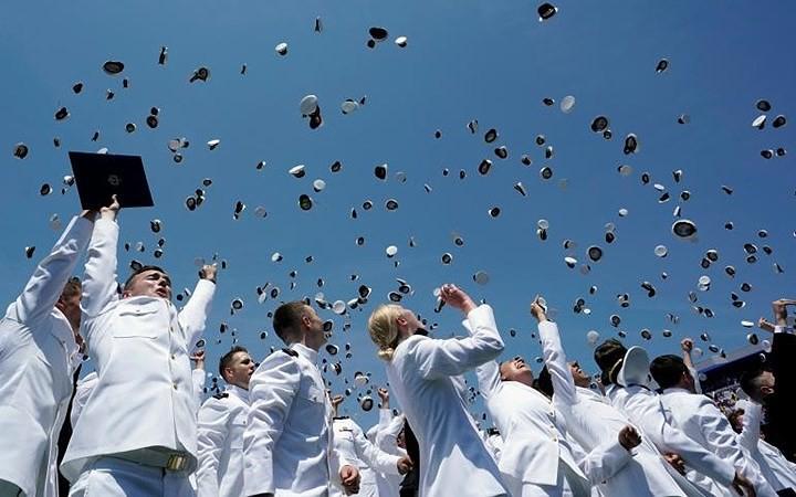 Ảnh: Hân hoan lễ tốt nghiệp tại các trường Đại học danh tiếng nước Mỹ - Ảnh 1.