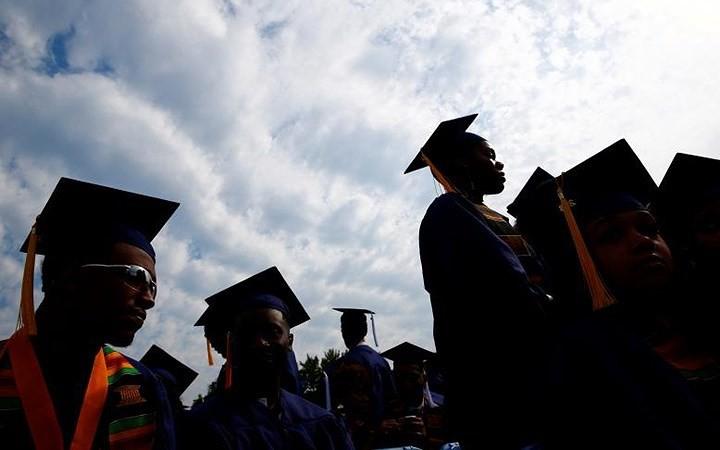 Ảnh: Hân hoan lễ tốt nghiệp tại các trường Đại học danh tiếng nước Mỹ - Ảnh 7.