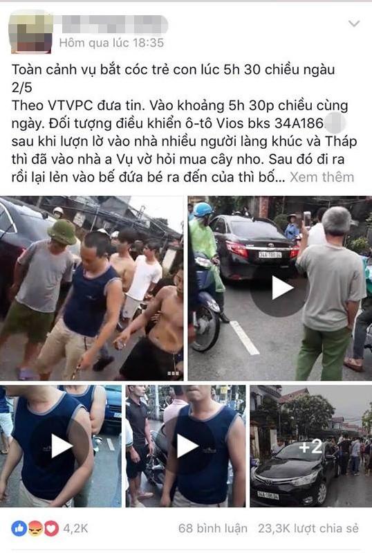 Vụ người đàn ông đi ô tô nghi bắt cóc trẻ em ở Hưng Yên: Đối tượng đã lảng vảng quanh xóm vờ mua cây cảnh từ sáng sớm - Ảnh 4.
