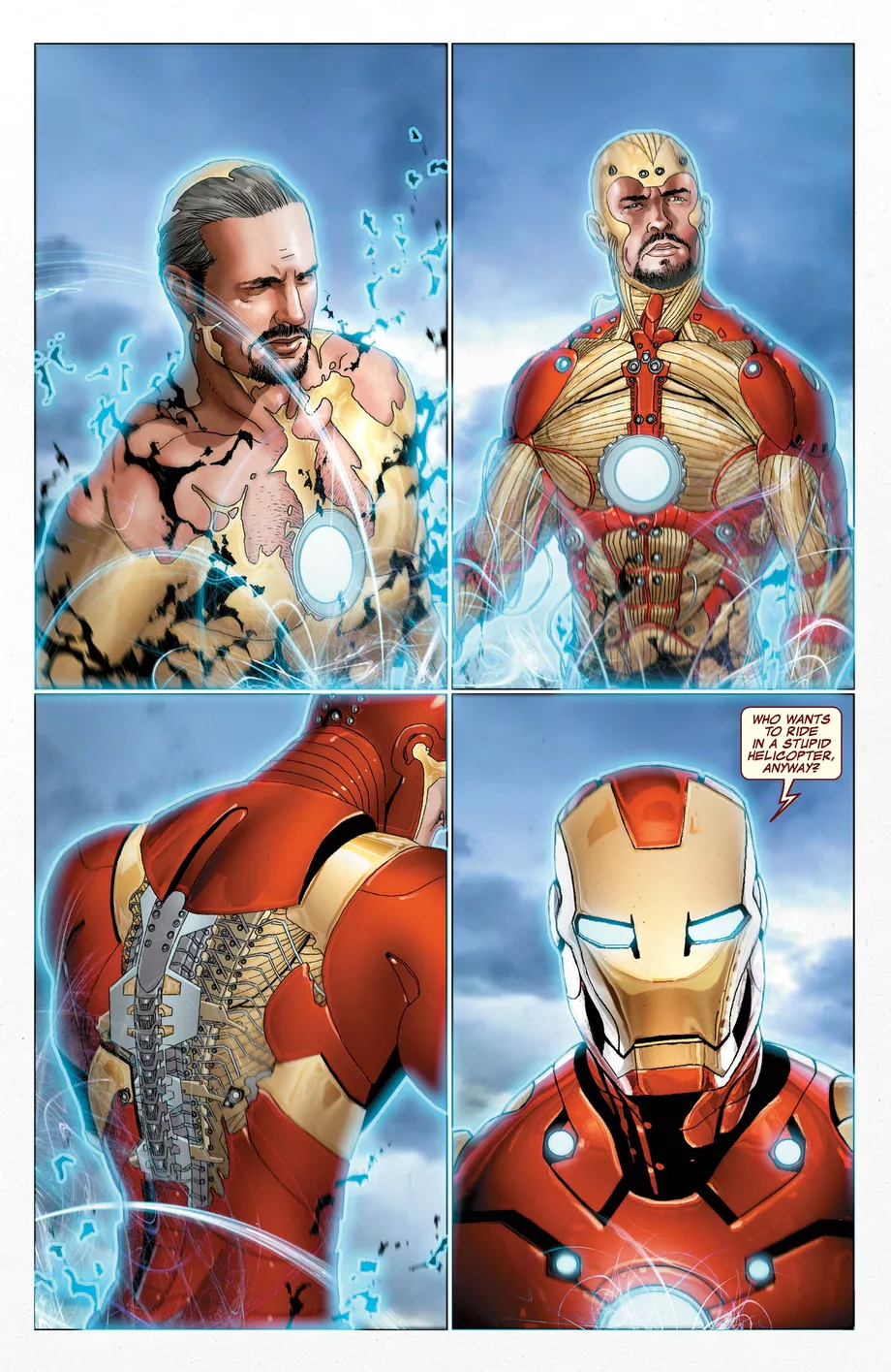 Lý giải về công nghệ bộ giáp Iron Man lấy da bọc xương thần thánh trong Avengers: Infinity War - Ảnh 3.