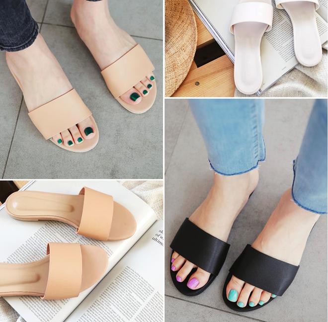 Khoanh vùng ngay 3 mẫu dép bệt này, vì đi lên chân nhìn còn sang hơn cả giày cao gót - Ảnh 3.