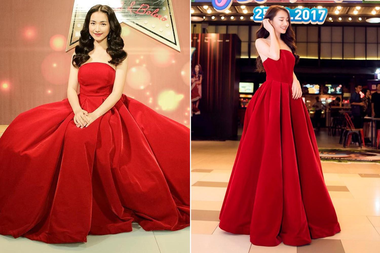 """Mặc lại váy cũ, Hòa Minzy """"đụng hàng"""" bất phân thắng bại với Nhã Phương - Ảnh 7."""
