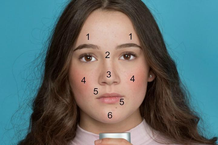Bất kỳ vị trí mụn nào trên khuôn mặt cũng có thể cảnh báo tình trạng sức khỏe của bạn - Ảnh 2.