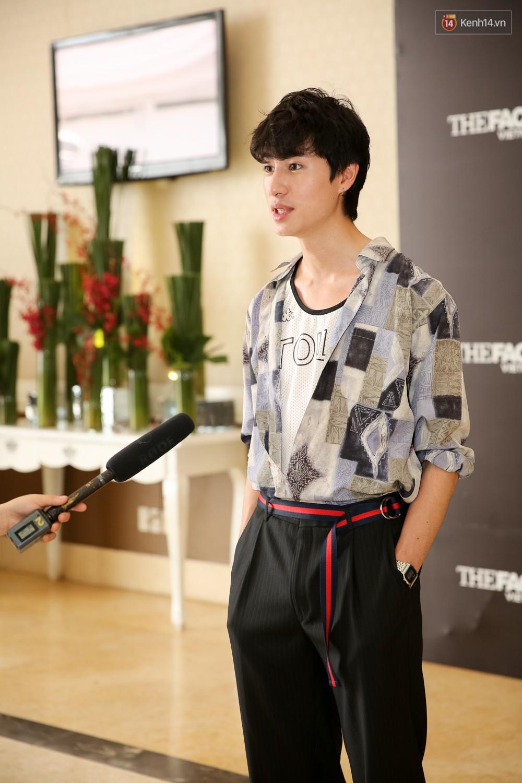 Hot girl Lâm Á Hân khoe vòng 1 sexy trong buổi casting The Face Vietnam 2018! - Ảnh 16.