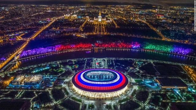 Ấn tượng kiến trúc sân vận động World Cup 2018 - Ảnh 1.