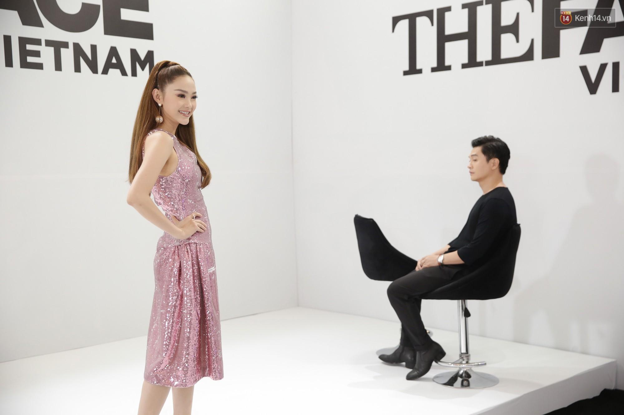 The Face ngày 2: Vắng mặt Võ Hoàng Yến, Song Hằng nhí nhố trong hậu trường với Nam Trung - Ảnh 12.