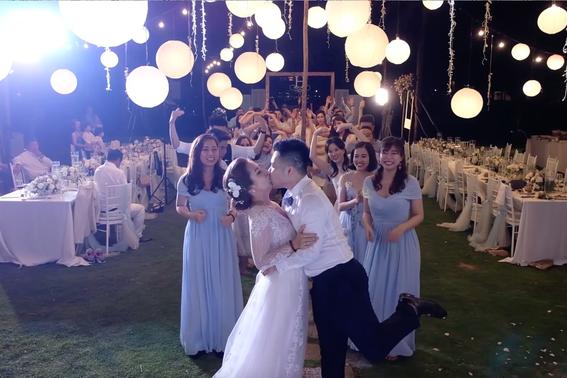 """Cùng xem MV cưới """"one shot"""" đầu tiên tại Việt Nam, chỉ quay trong đúng một lần bấm máy mà vẫn lung linh như mơ - Ảnh 2."""