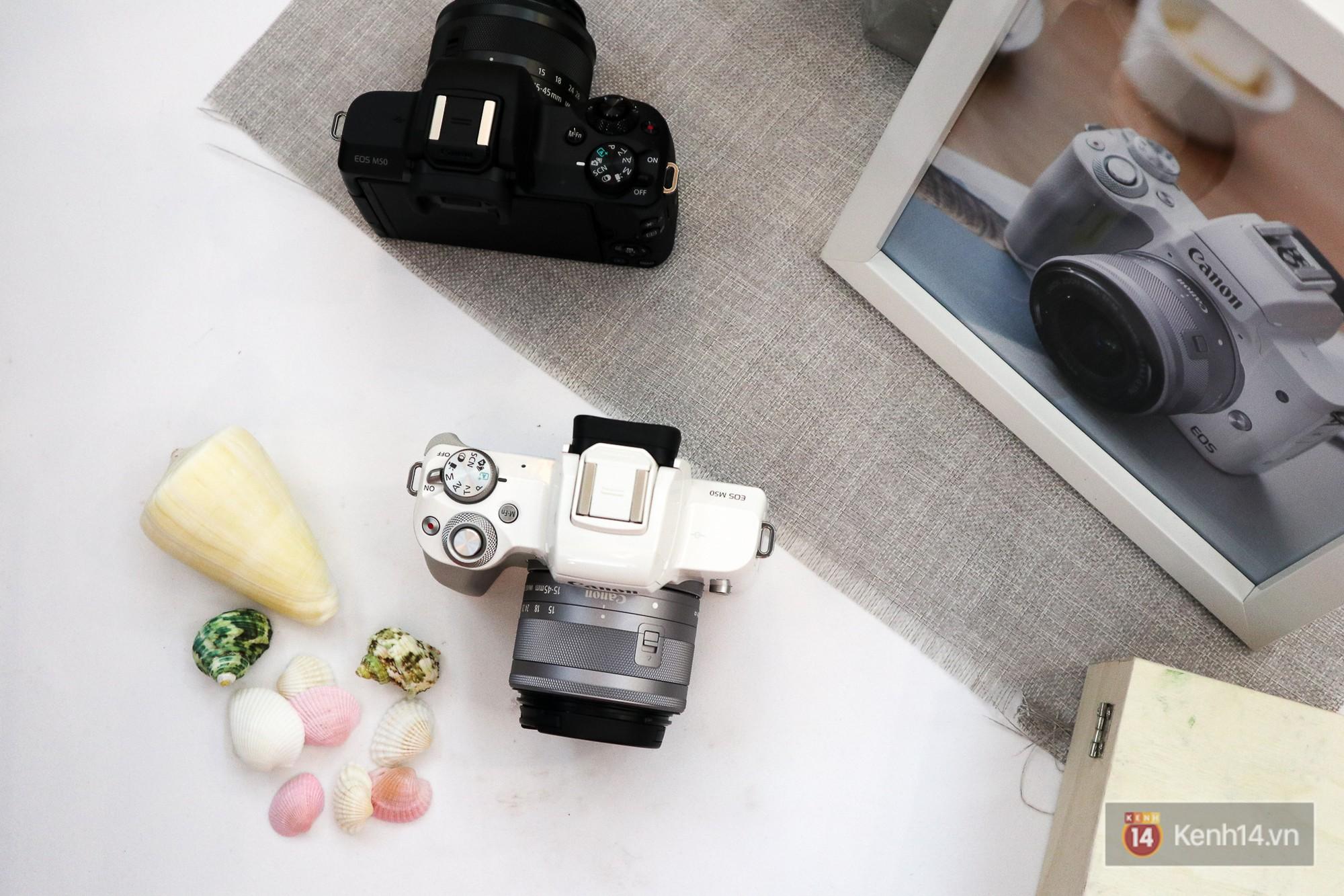 Canon chính thức ra mắt mẫu Mirrorless quay phim 4K EOS M50, hai DSLR giá