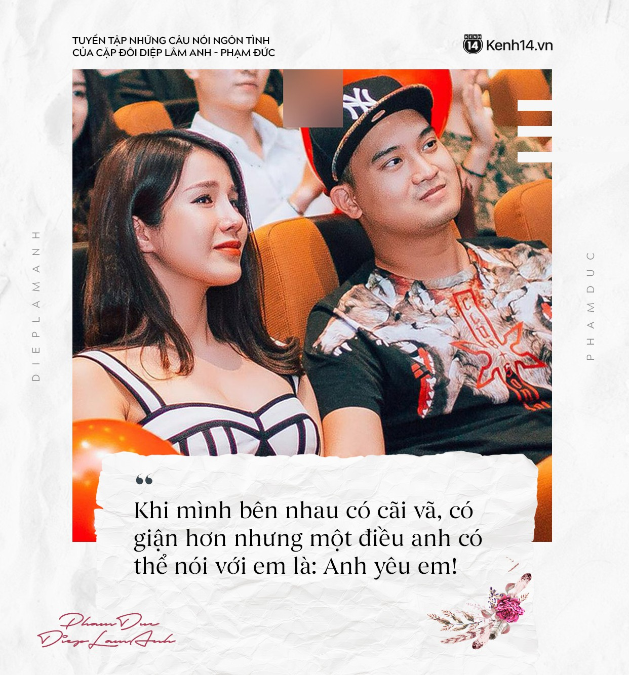 Loạt câu nói ngôn tình của chồng Diệp Lâm Anh khiến trái tim các chị em thổn thức - Ảnh 3.