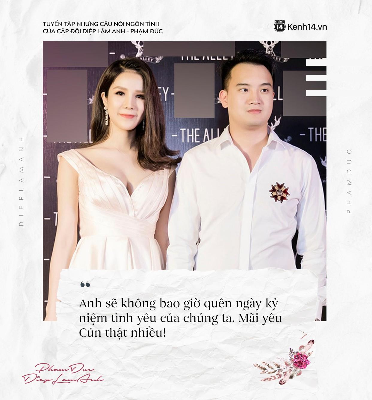 Loạt câu nói ngôn tình của chồng Diệp Lâm Anh khiến trái tim các chị em thổn thức - Ảnh 8.