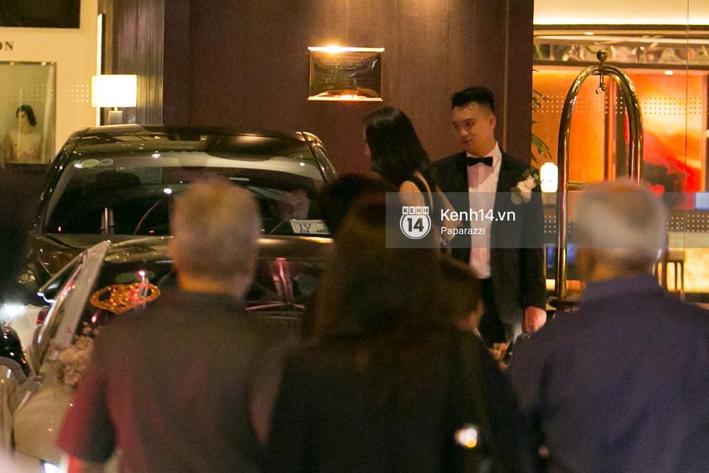 Sau đám cưới, Diệp Lâm Anh thay trang phục giản dị, lên xe 7 tỷ đồng về thẳng nhà chồng - Ảnh 2.
