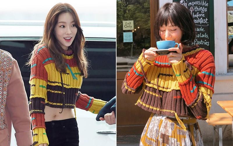 Đụng hàng: Taeyeon khoe vòng eo nữ thần, Min lại diện cùng váy xinh như nhân vật truyện tranh - Ảnh 6.