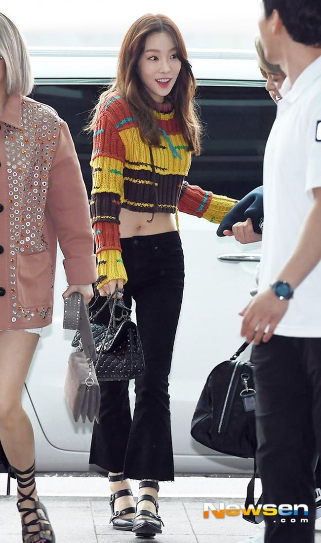 Đụng hàng: Taeyeon khoe vòng eo nữ thần, Min lại diện cùng váy xinh như nhân vật truyện tranh - Ảnh 3.