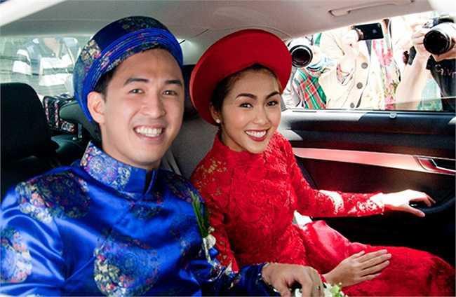 Nếu định chọn áo dài đỏ ngày ăn hỏi, hãy học tập Diệp Lâm Anh, HH Thu Thảo và Hà Tăng - Ảnh 13.