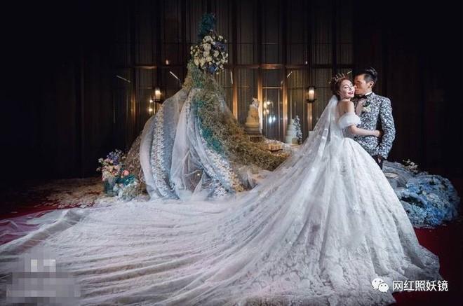 Những đám cưới cổ tích của dàn hot girl vạn người mê từng nổi đình nổi đám khắp Trung Quốc - Ảnh 9.