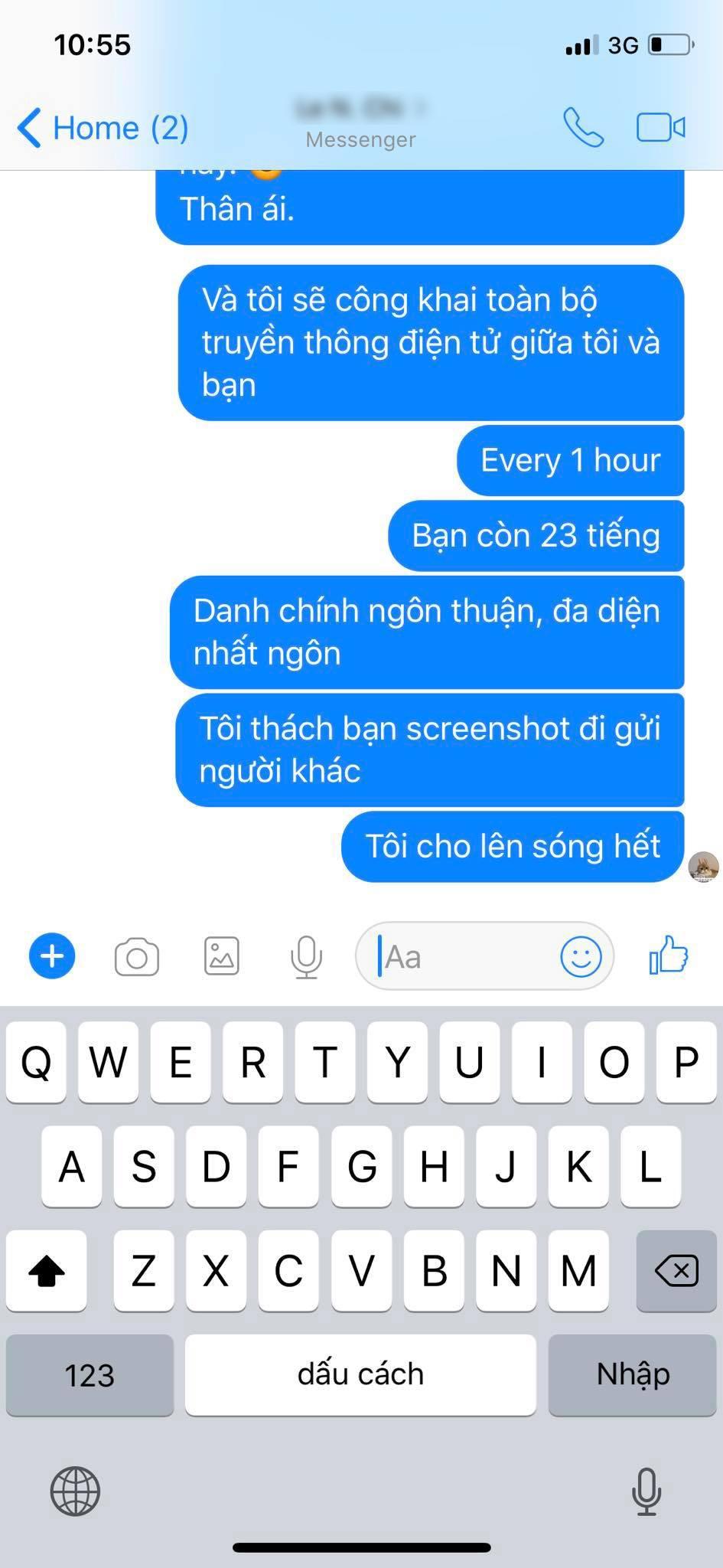 Dù biết là đọc phải page giả, Rocker Nguyễn vẫn chỉ trích và dọa fanpage HHSB xịn phải... tự giải quyết trong 24h - Ảnh 6.