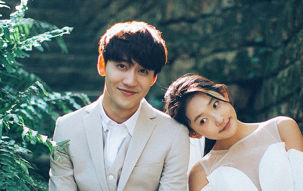 Bộ ảnh cưới tuy đơn giản nhưng vẫn rất đẹp