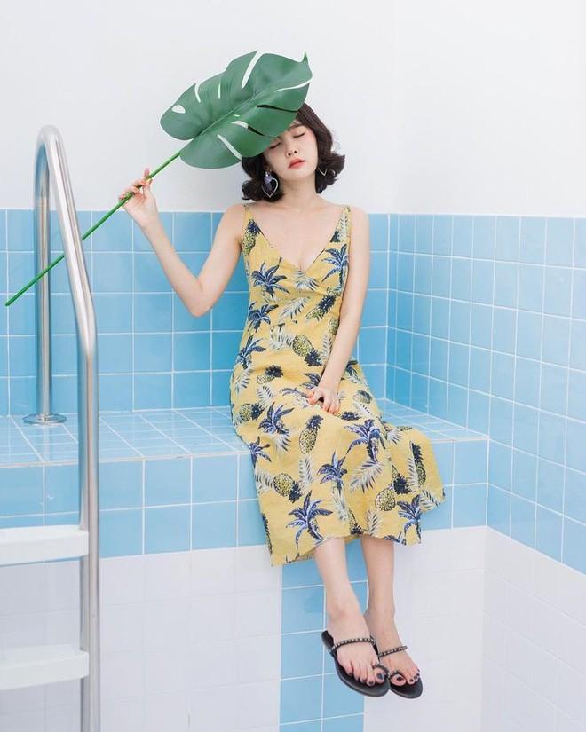 Mùa hè chọn váy dáng dài vừa xinh vừa chống nắng, nhưng diện sao cho đẹp thì đây là 5 bí kíp bạn cần bỏ túi - Ảnh 13.