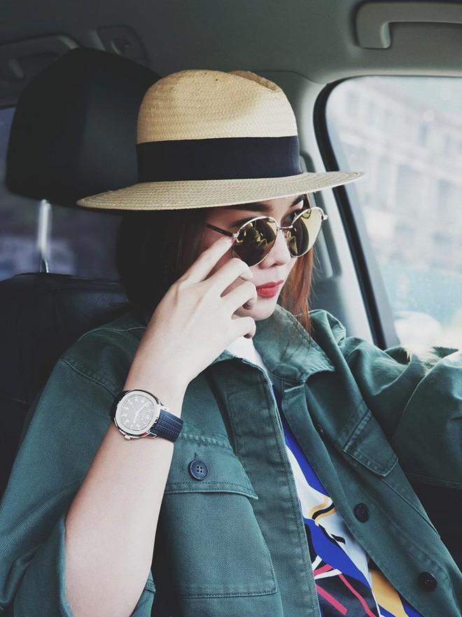 Học sao Việt cách chọn và kết hợp mũ cói sao cho thật duyên dáng khi diện cùng trang phục hè - Ảnh 14.