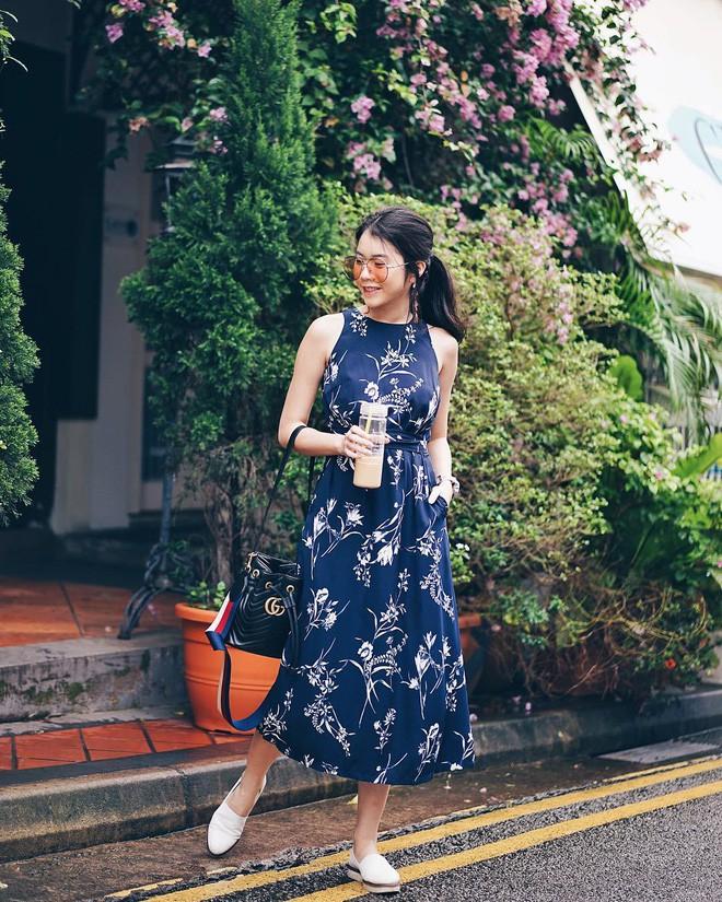 Mùa hè chọn váy dáng dài vừa xinh vừa chống nắng, nhưng diện sao cho đẹp thì đây là 5 bí kíp bạn cần bỏ túi - Ảnh 3.