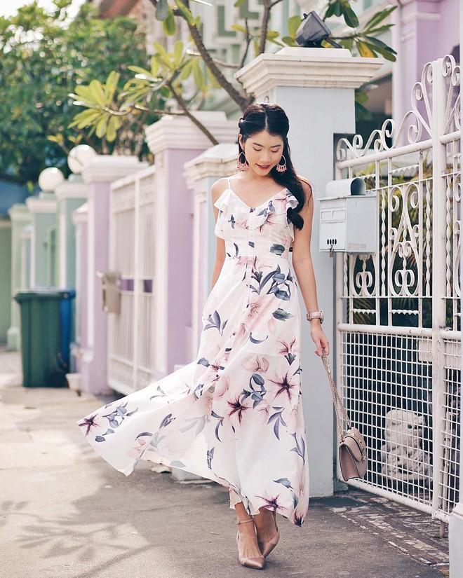 Mùa hè chọn váy dáng dài vừa xinh vừa chống nắng, nhưng diện sao cho đẹp thì đây là 5 bí kíp bạn cần bỏ túi - Ảnh 6.
