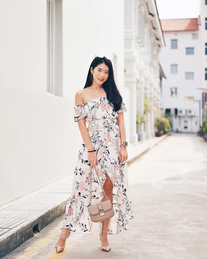 Mùa hè chọn váy dáng dài vừa xinh vừa chống nắng, nhưng diện sao cho đẹp thì đây là 5 bí kíp bạn cần bỏ túi - Ảnh 9.