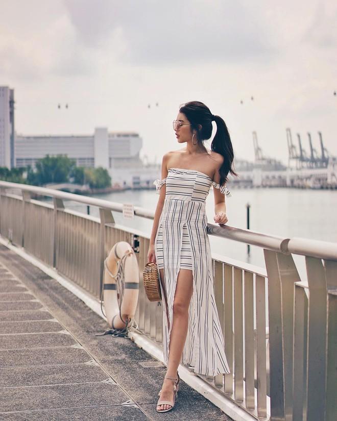 Mùa hè chọn váy dáng dài vừa xinh vừa chống nắng, nhưng diện sao cho đẹp thì đây là 5 bí kíp bạn cần bỏ túi - Ảnh 10.