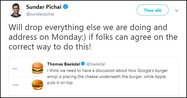 CEO Google khai mạc sự kiện bằng cách... khoe công ty biết làm burger rất chuẩn - Ảnh 3.