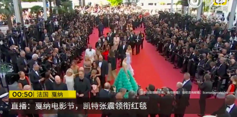 Phạm Băng Băng cũng chơi chiêu tạo dáng thật lâu tại thảm đỏ Cannes, khiến sao thế giới phải đi đường vòng? - Ảnh 5.