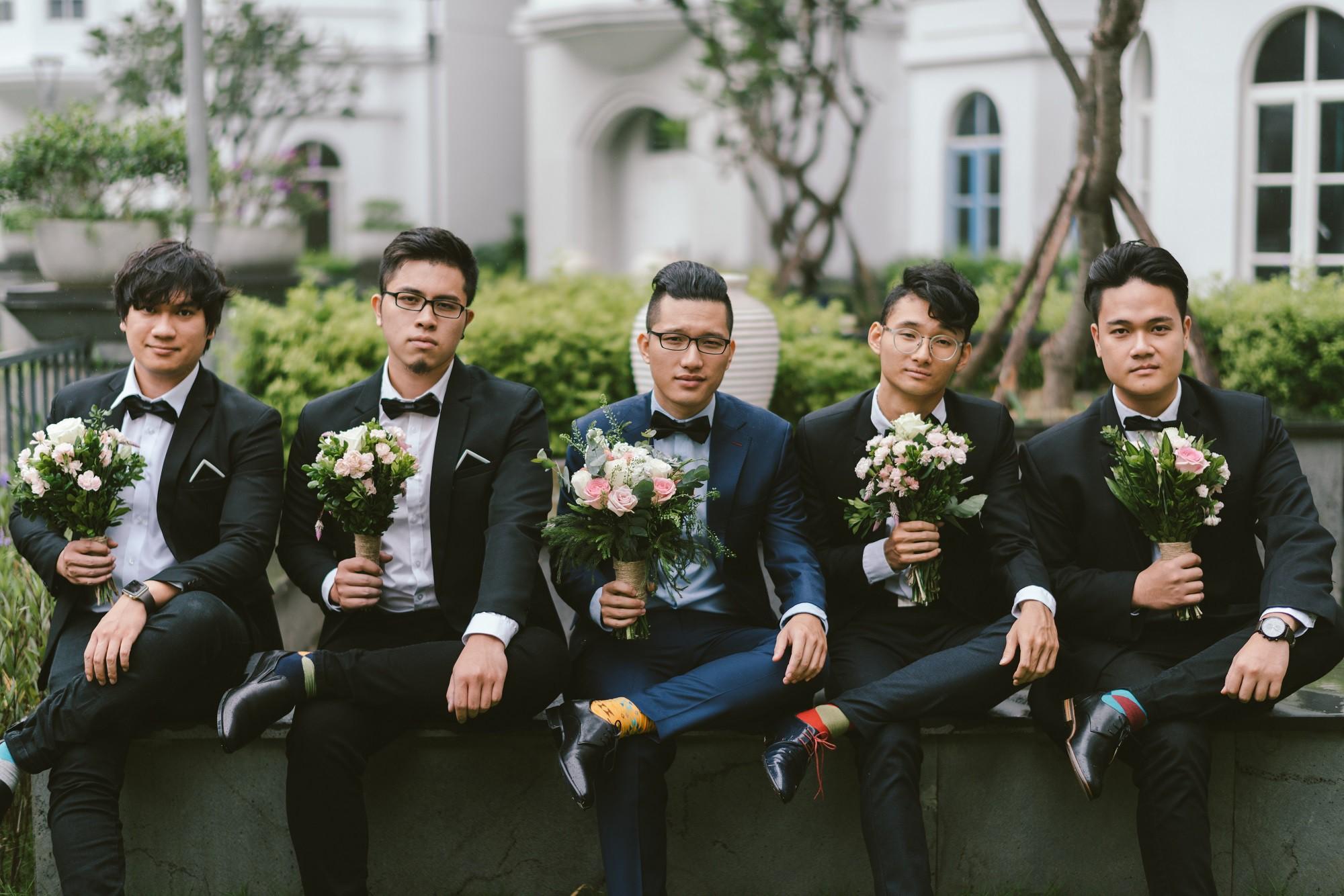 Em gái Trấn Thành kết hôn với bạn trai Hồng Kông, tung bộ ảnh cưới nhắng nhít cùng hội bạn thân - Ảnh 9.