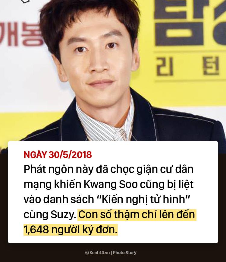 Lee Kwang Soo và Suzy bị kiến nghị tử hình: Toàn cảnh vụ việc - Ảnh 13.