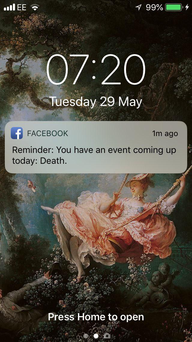 Chỉ vì não cá vàng, cô gái bị Facebook lên đồng dọa sợ chết khiếp bằng một dòng thông báo - Ảnh 1.