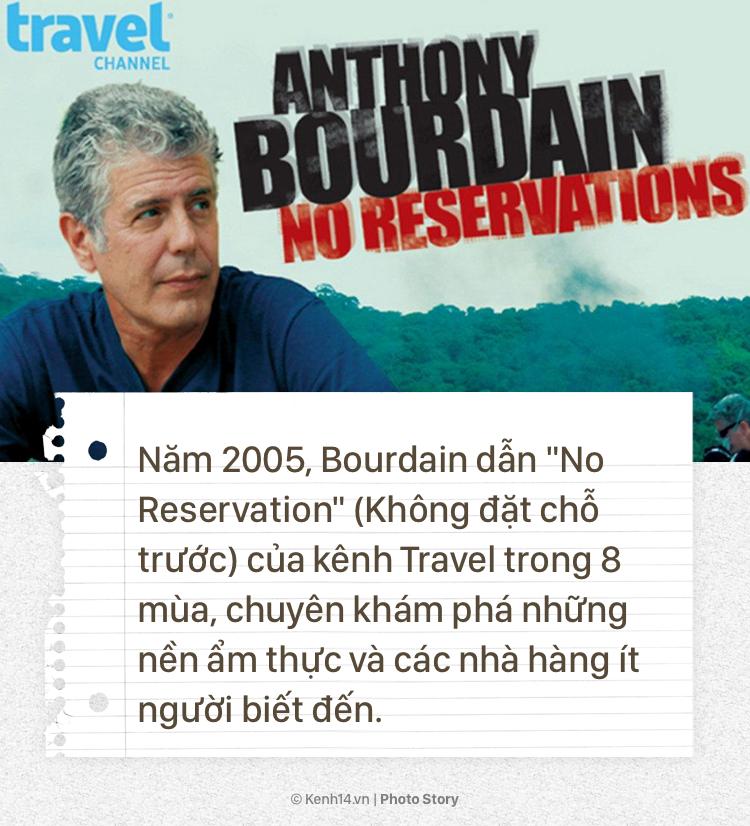 Anthony Bourdain và hành trình cống hiến cho ẩm thực của người đầu bếp tài hoa này - Ảnh 5.