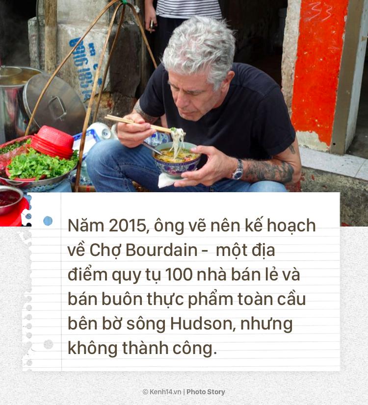 Anthony Bourdain và hành trình cống hiến cho ẩm thực của người đầu bếp tài hoa này - Ảnh 9.