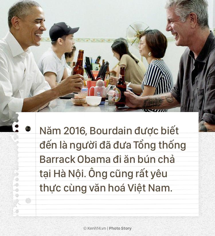 Anthony Bourdain và hành trình cống hiến cho ẩm thực của người đầu bếp tài hoa này - Ảnh 11.