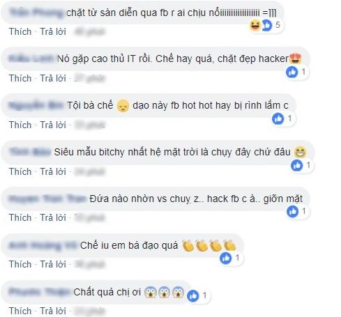 Tài khoản facebook bị tấn công, Võ Hoàng Yến dằn mặt hacker cực gắt - Ảnh 2.