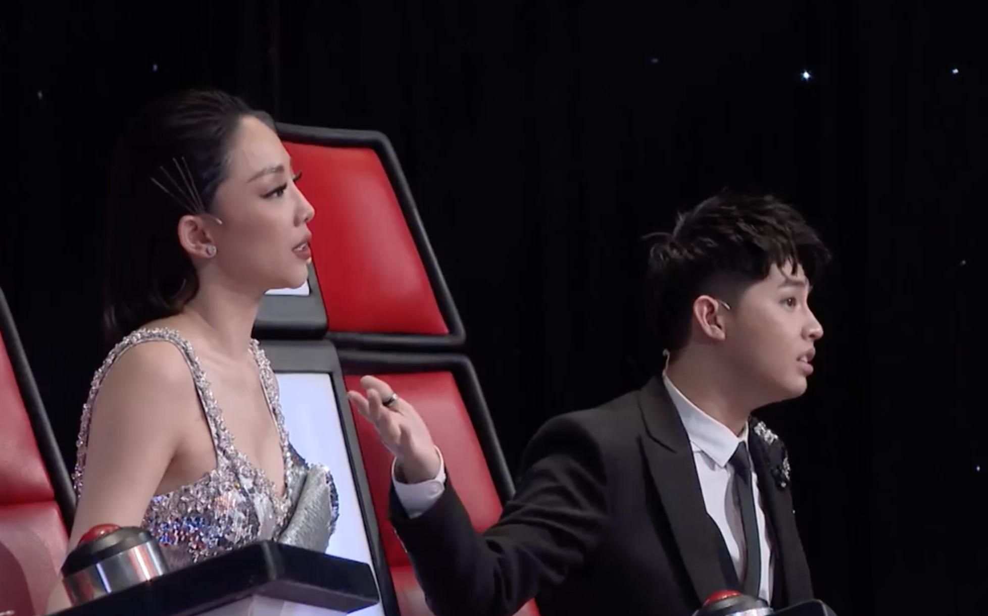Giọng hát Việt: Noo Phước Thịnh - Tóc Tiên lại căng thẳng vì thí sinh giọng khủng - Ảnh 3.
